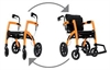Rollz Motion Rollator Wheelchair -wheelchairs-Access Mobility