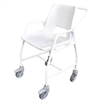 Mobile Shower Chair with Castors-shower-chairs-and-stools-Access Mobility