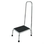 Chevron Step Stool with Handrail-daily-living-aids-Access Mobility