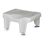 Plastic Bath Seat with suction cups-bath-aids-Access Mobility