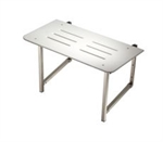 Fold up Shower Seat - 800mm wide-bathroom-Access Mobility