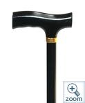 T Wooden Handle Cane-walking-aids-Access Mobility