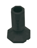 Flexi-foot 25MM-rubber-tips-Access Mobility