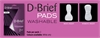 D Brief Womens Insert Pad -continence-Access Mobility