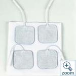 GEM-Self Adhesive Electrodes 4x4-physio-support--Access Mobility