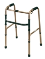 Deluxe Folding Walking Frame 4 Feet-walking-aids-Access Mobility
